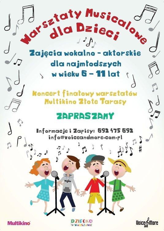 Warsztaty musicalowe dla dzieci
