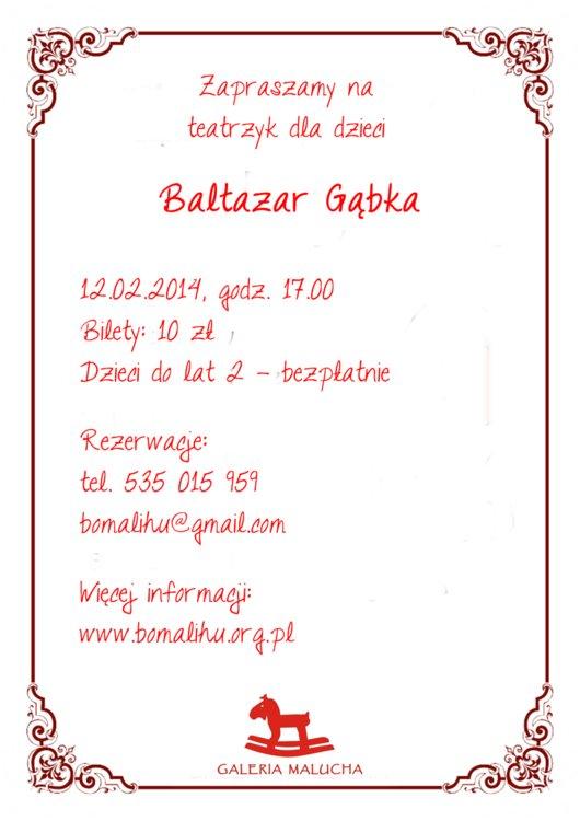Baltazar-Gąbka