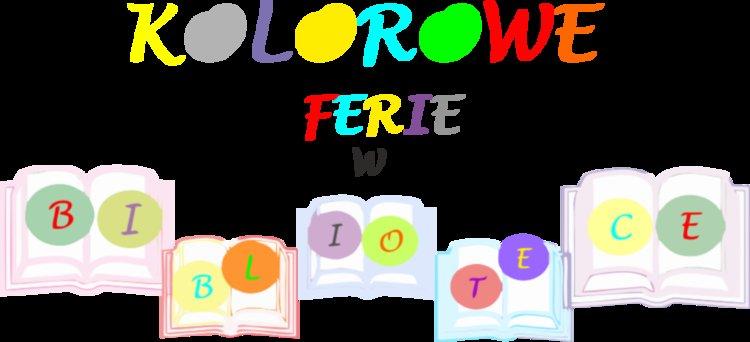 Kolorowe ferie w bibliotece