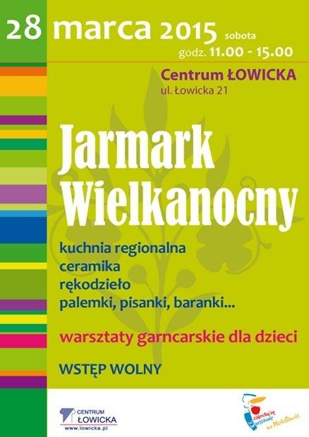 Jarmark Wielkanocny w Centrum Łowicka