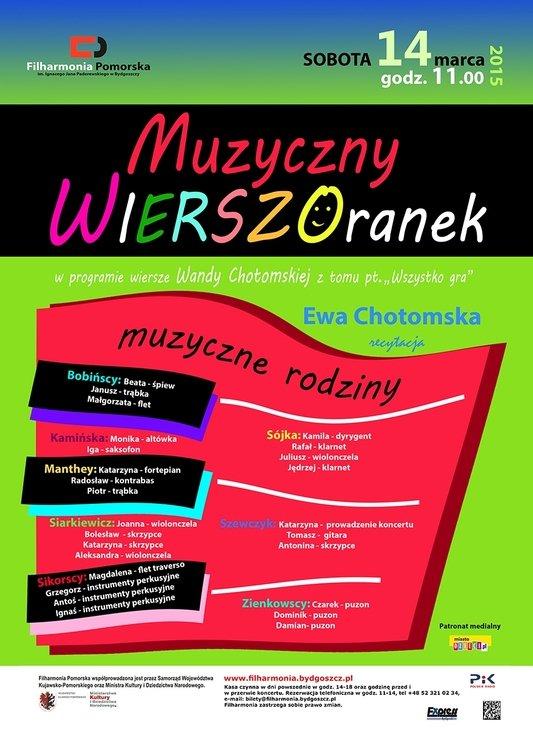 Muzyczne WIERSZOranki – Bydgoszcz