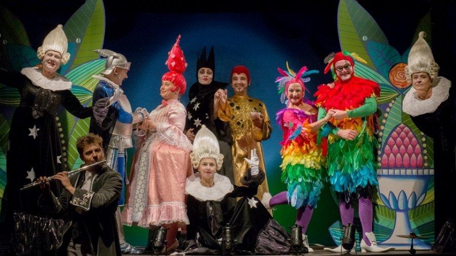Wrocławski Teatr Lalek Czarodziejski flet