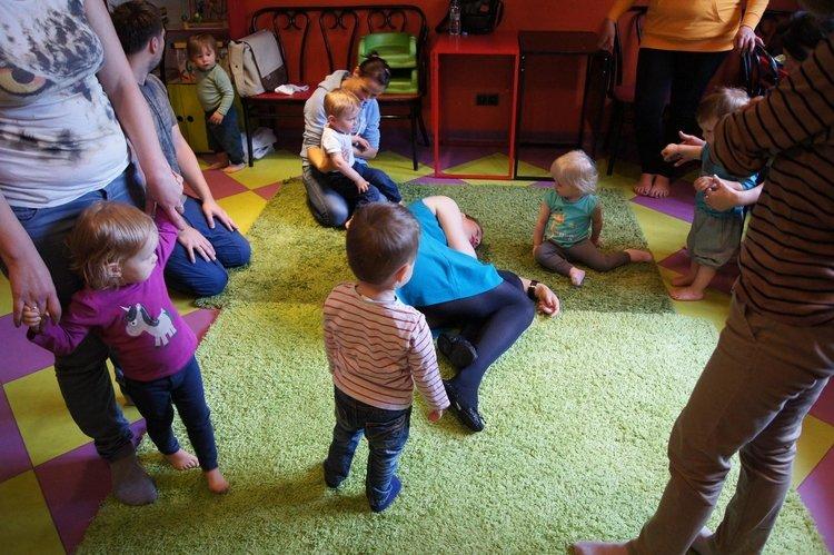 Bieganki zajęcia ogólnorozwojowe dla dzieci od 1 do 2 lat