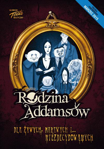Rodzina Addamsów w Gliwickim Teatrze Muzycznym