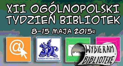 Tydzień Bibliotek 2015 w Śródmiejskiej Bibliotece Publicznej w Krakowie
