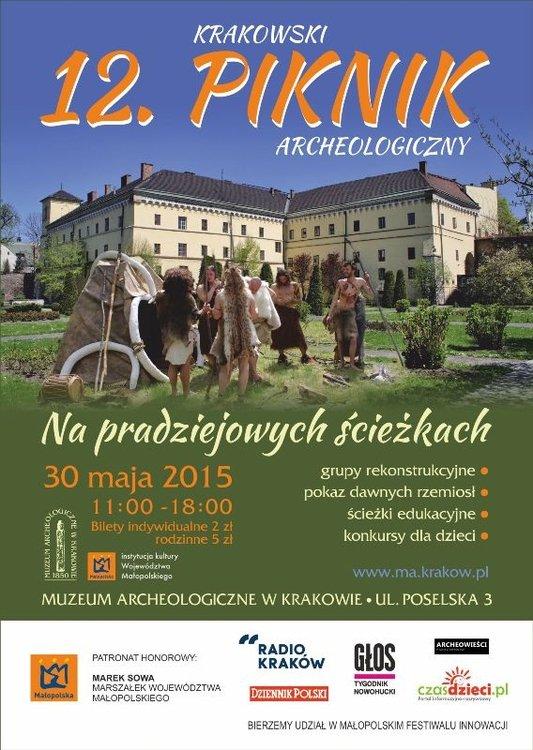 12. Krakowski Piknik Archeologiczny Na pradziejowych ścieżkach