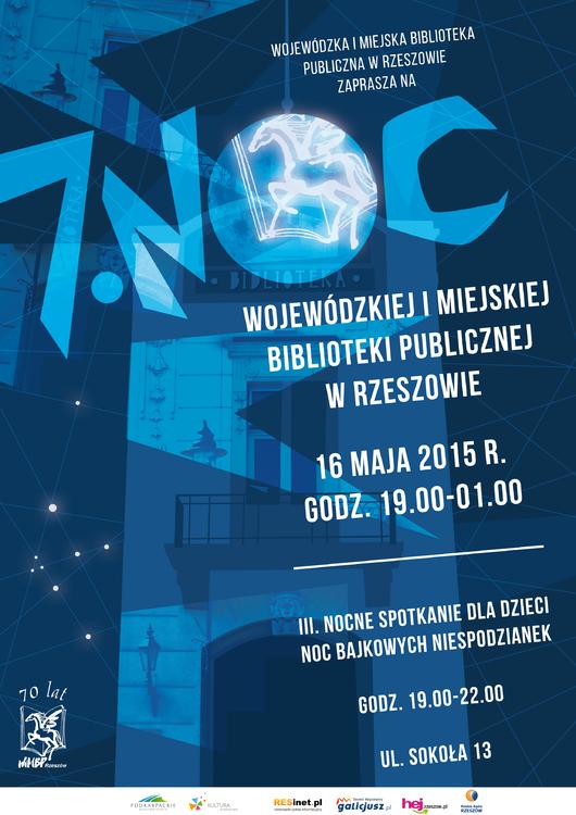 7. Noc Wojewódzkiej i Miejskiej Biblioteki Publicznej w Rzeszowie