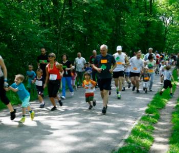 zielona łódź mini maraton przedszkolaków