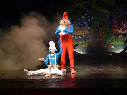 Smurfowisko, czyli Gargamel złapany – musical dla dzieci
