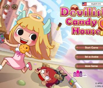 Magiczny dom ze słodyczami – gra online dla dzieci