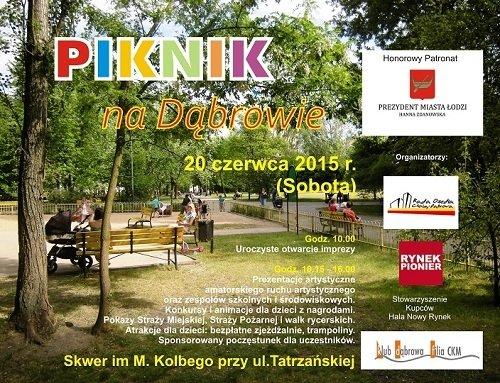Piknik na Dąbrowie
