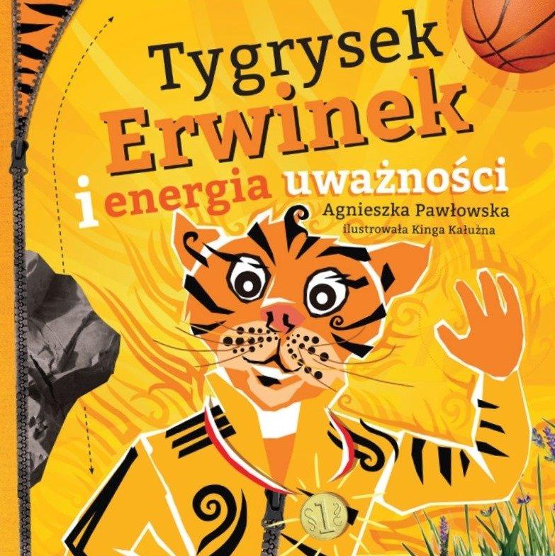 Tygrysek Erwinek Kraina Uważności Wydawnictwo Poznańskie Recenzja
