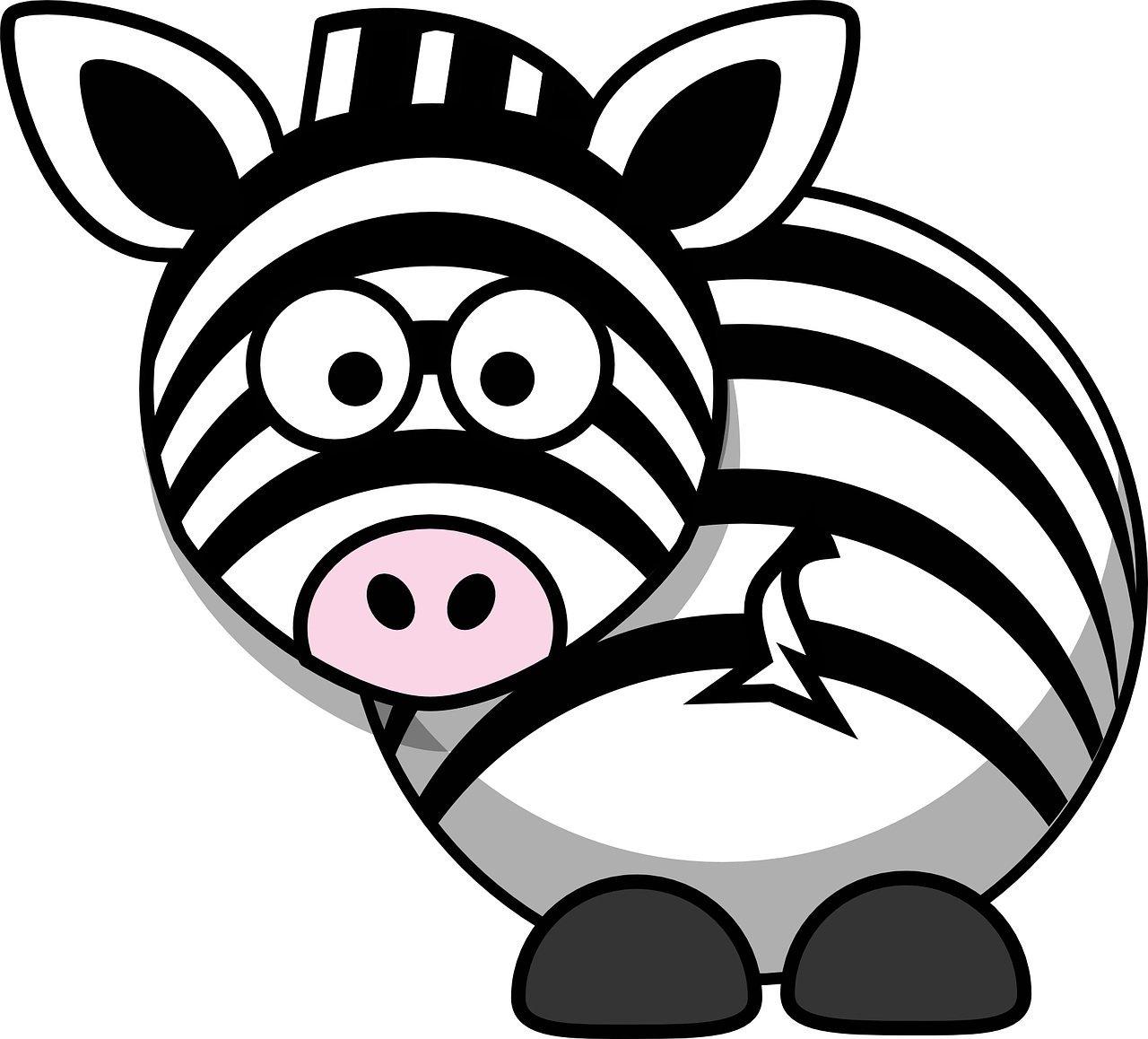 Zebra wierszyk dla dzieci. Wiersze i piosenki o zwierzętach