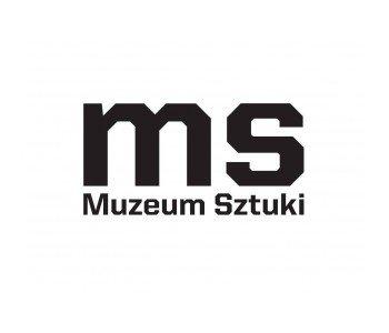 Muzeum Sztuki w Łodzi logo czarno-białe
