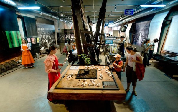Muzeum Fabyki sala wystawowa