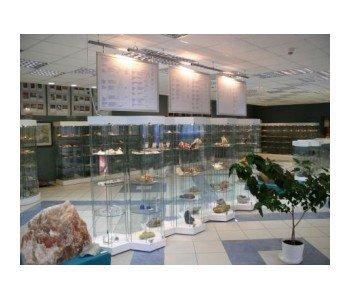 Muzeum Geologiczne ekspozycja