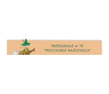 """Przedszkole nr 75 """"Przyjaciele Włóczykija"""""""