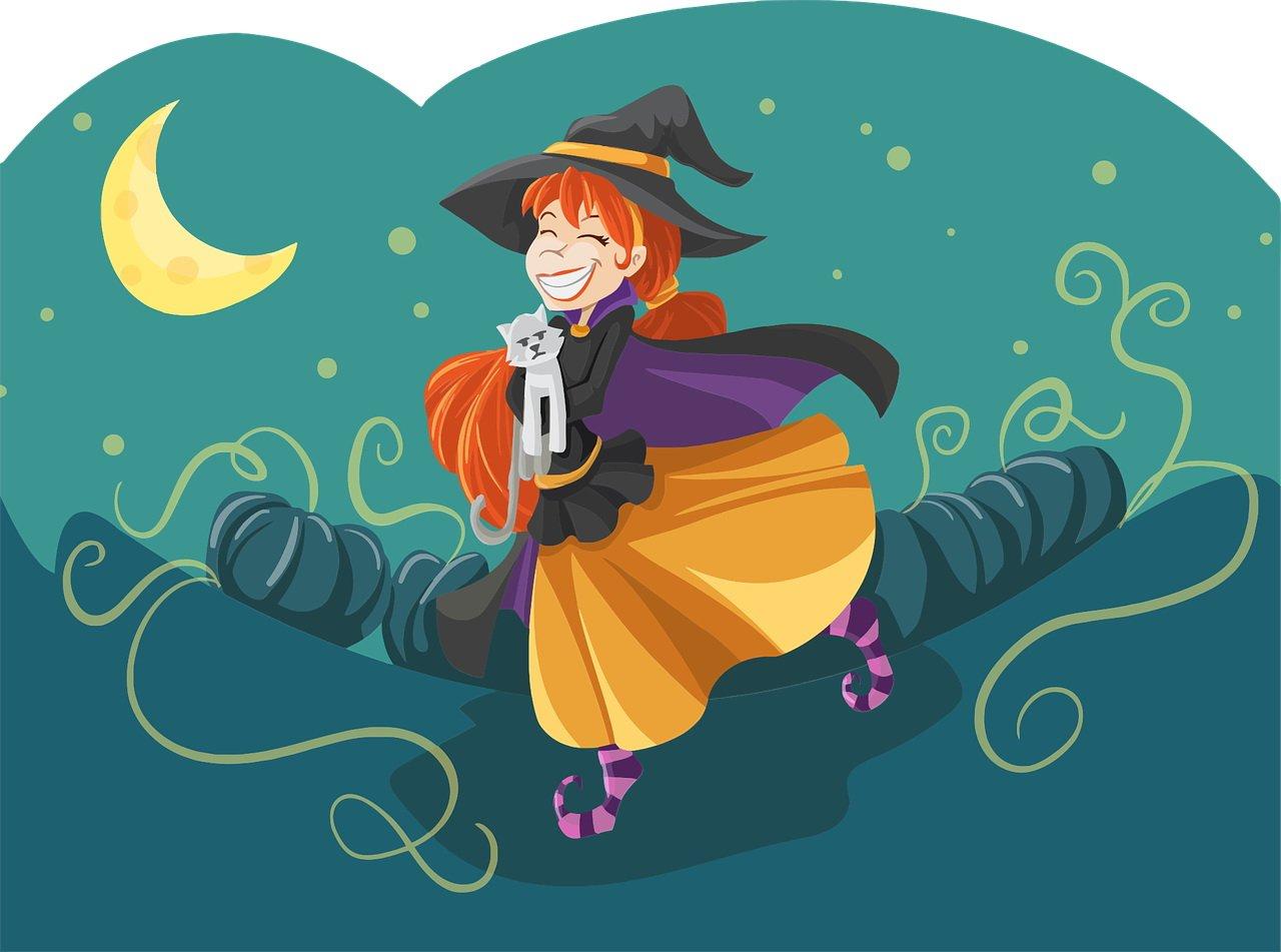 Bajka dla dzieci o czarownicy