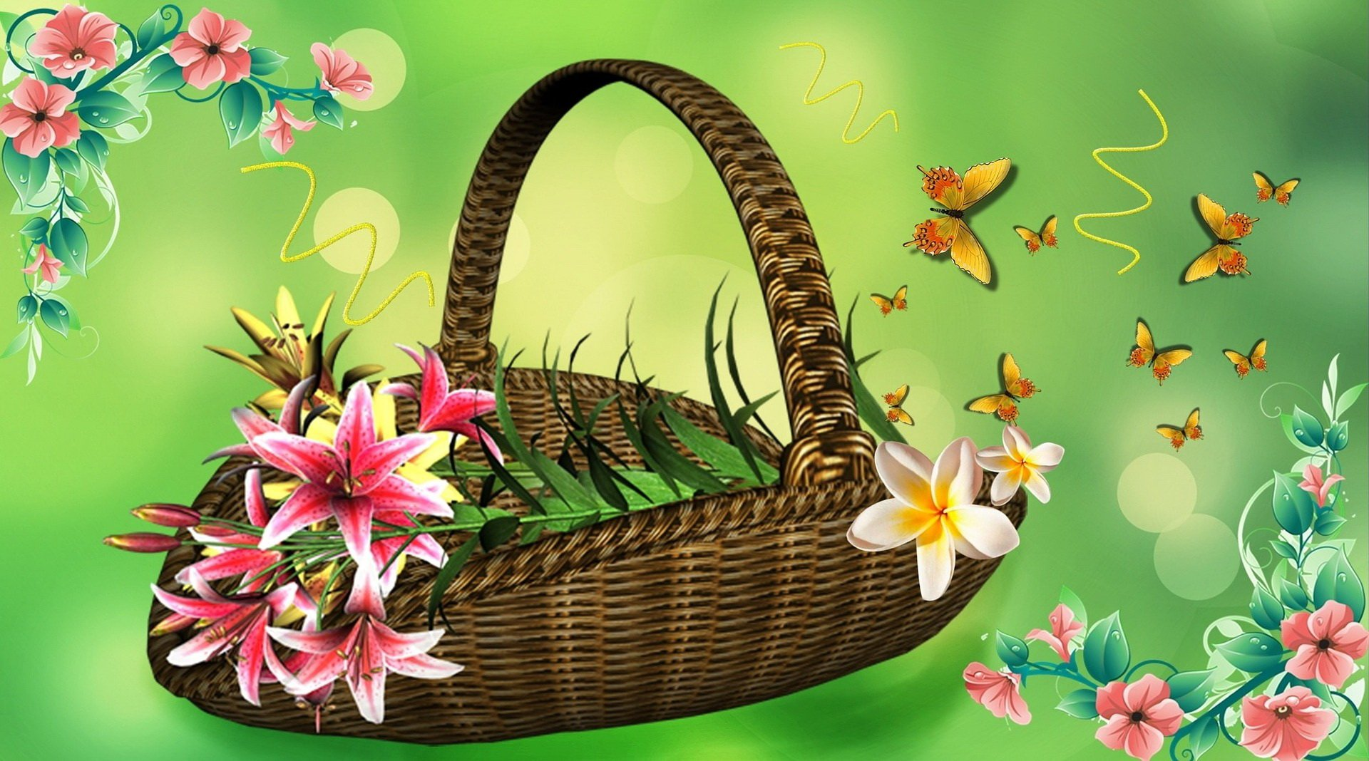Bajki dla dzieci kwiaty na Dzień Mamy