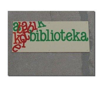 Miejska Biblioteka Publiczna Łódź-Polesie Filia nr 3 szyld