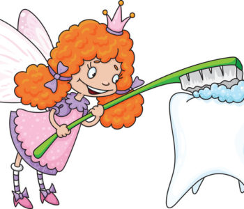 Zębowa wróżka i ząbek