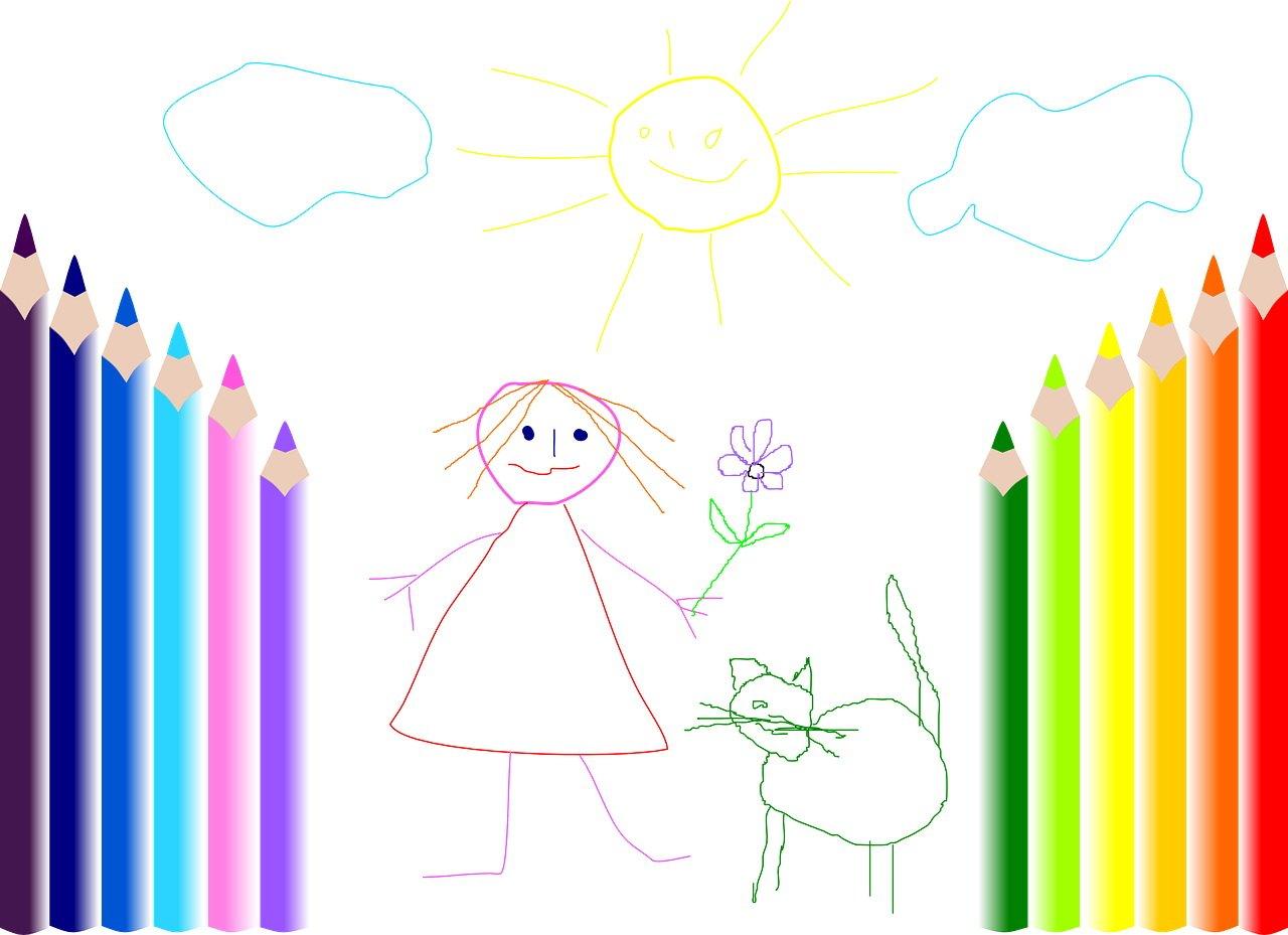 Rysowanie bajka dla dzieci na dobranoc
