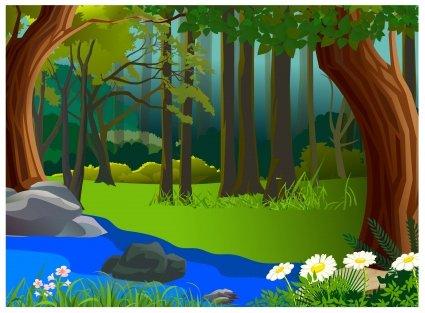 bajkowy las bajka dla dzieci