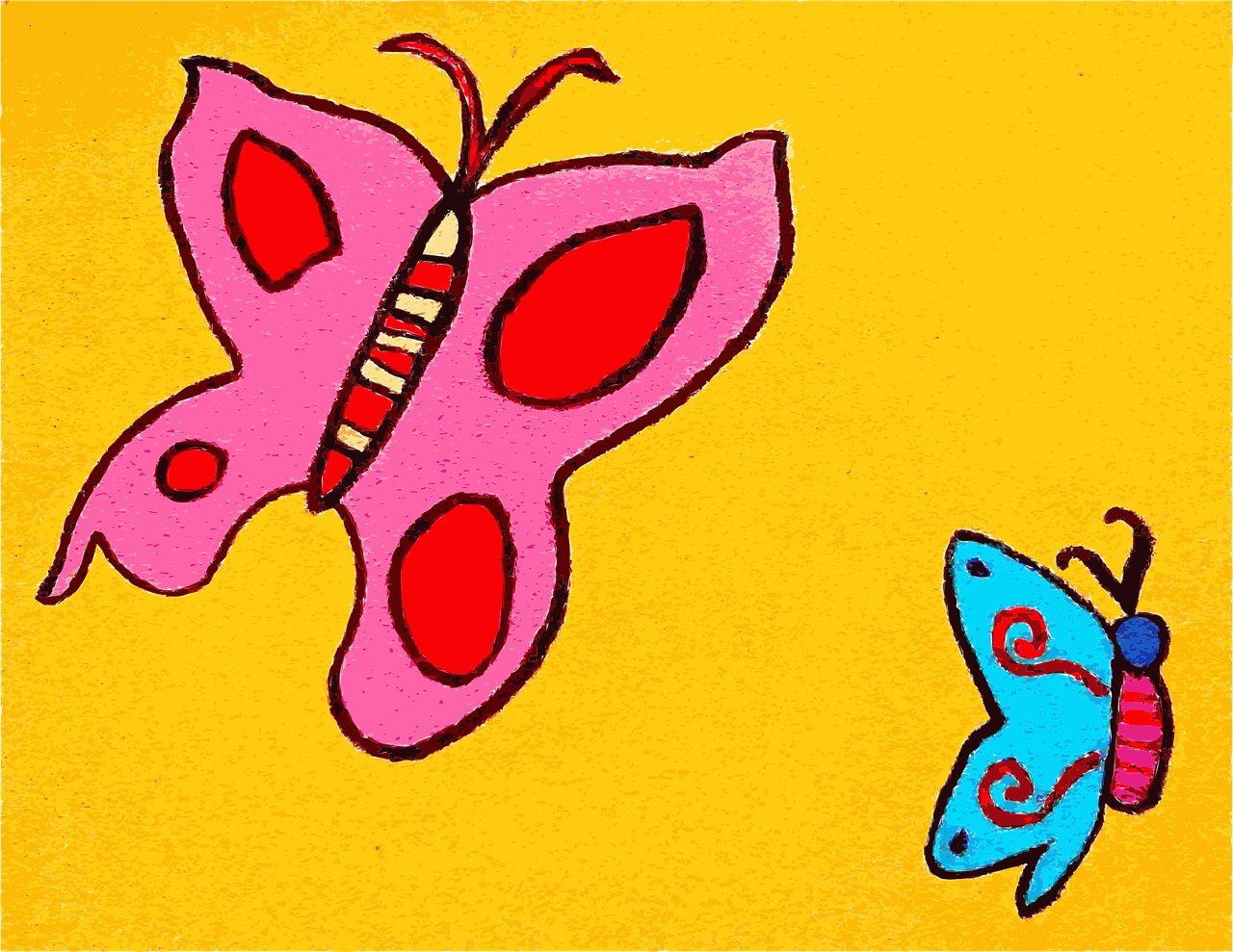 Bajka o motylku dla dzieci do czytania