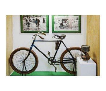 Muzeum Sportu i Turystyki eksponat - rower