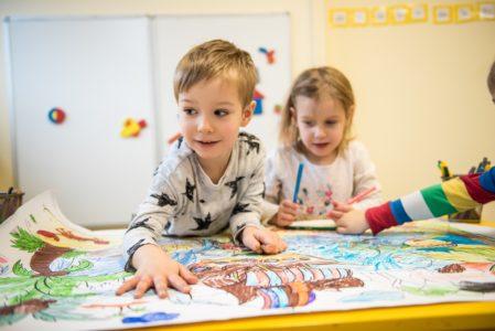 Przedszkole dla dzieci w 3 Róznych lokalizacjach w Warszawie - Cuchcia Puch Puch