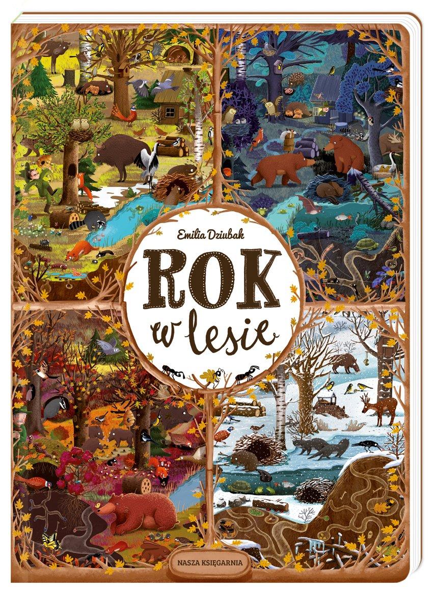 Rok w lesie Nasza Księgarnia
