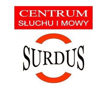 Surdus Centrum Mowy i Słuchu w Łodzi - logo