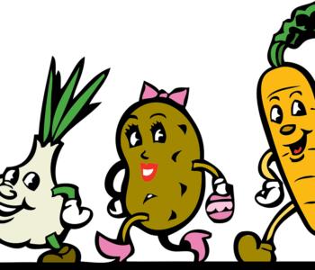 Bajka dla dzieci do czytania o warzywach