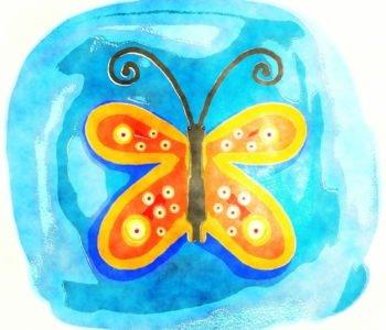 Pióra motyla