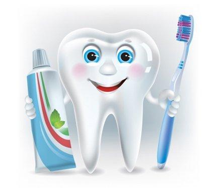 ząbek, pasta i szczotka - bajka zębowa wróżka