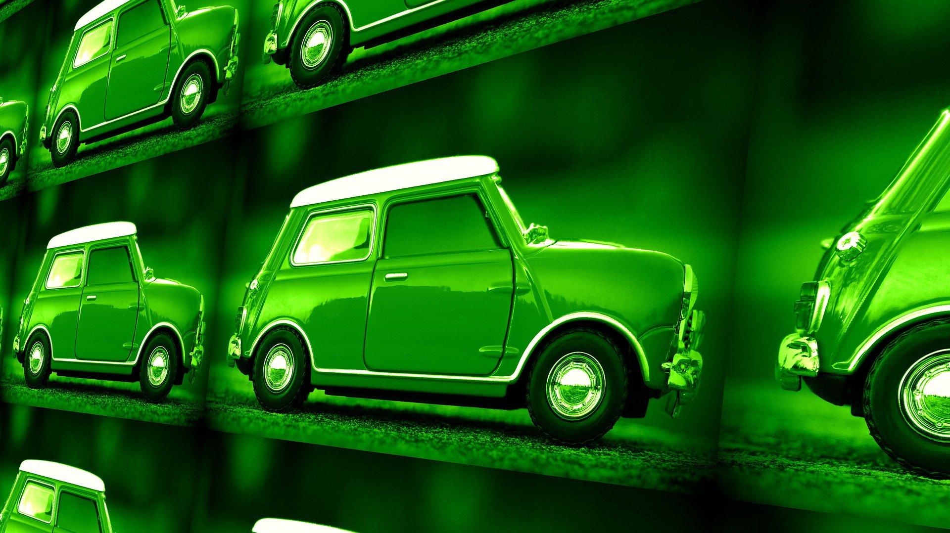 Zielony samochodzik bajka