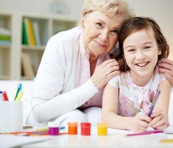Babcia ma święto, piosenka na Dzień babci, tekst i melodia