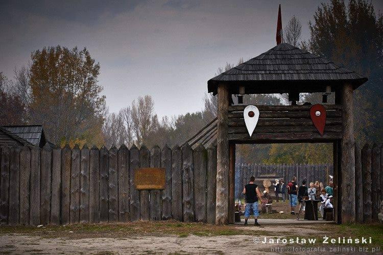 Warownia Jomsborg - brama