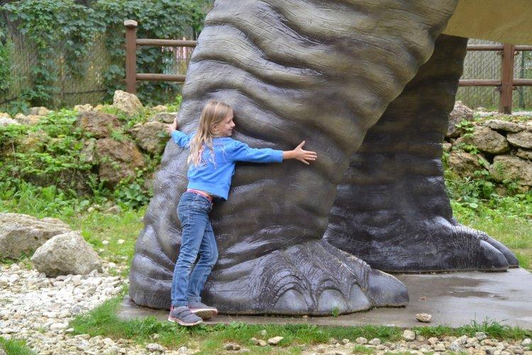 Jurapark w Bałtowie - park dinozaurów dla dzieci