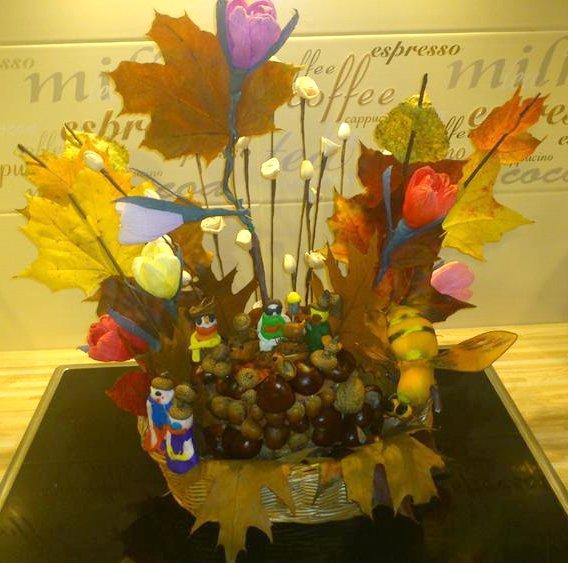 Kompozycja z darów jesieni