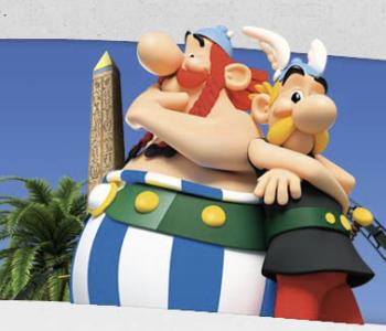 Park Asterixa we Francji to doskonała rozrywka dla całej rodziny