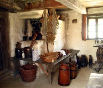 chata w Muzeum Wsi Opolskiej