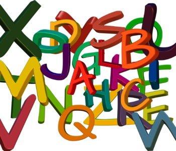 Pan Alfabet wierszyk dla dzieci o literkach