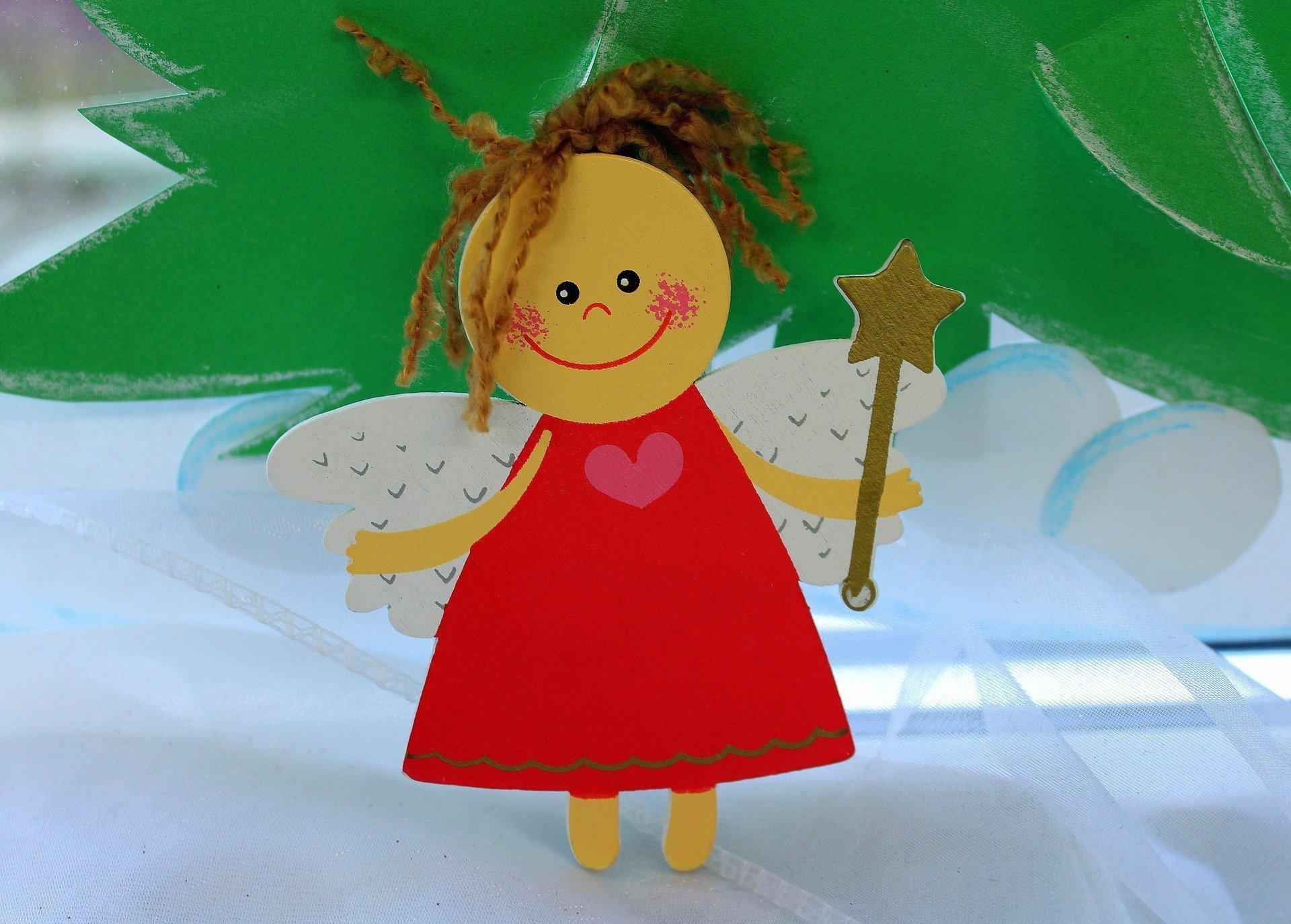 Wierszyk religijny dla dzieci o aniołku