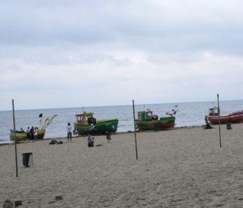 A na koniec plaża...
