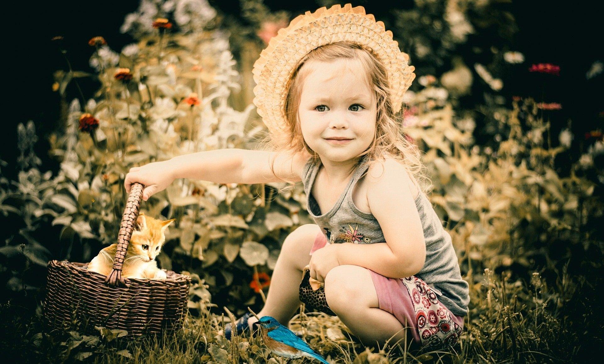 Jestem sobie ogrodniczka, piosenka dla dzieci, tekst i melodia