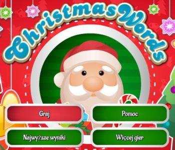 Boże Narodzenie, znajdź literki. Gra online dla dzieci