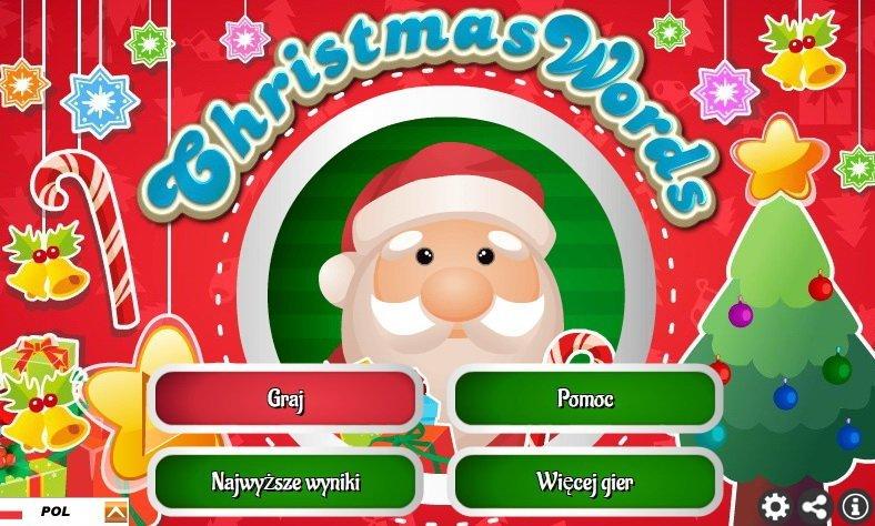 boze narodzenie znajdz literki gra online dla dzieci