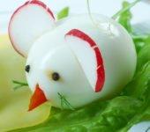 myszka z jajka na twardo