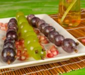 przepis na węża z winogron